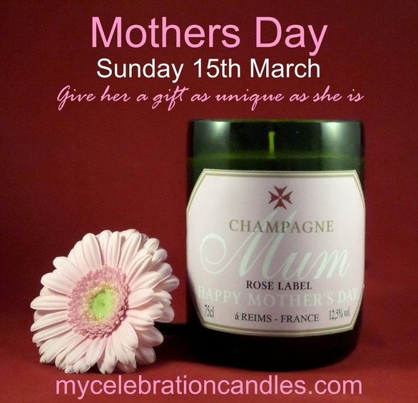 Mothers Day unique candle gift